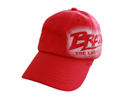 BRACHIAL JOCKEY DENIM FLEXFIT BASECAP FAME (S-M) RED